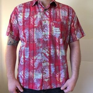 Tommy Jean Button Up Hawaiian Shirt
